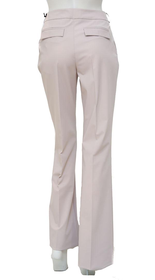 Nude Pink Υφασμάτινο Παντελόνι με ζώνη